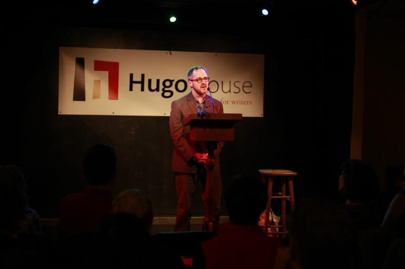 Washington State Poet Laureate Tod Marshall performing at Seattle's Hugo House.