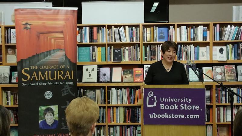 Lori Tsugawa Whaley at University Bookstore