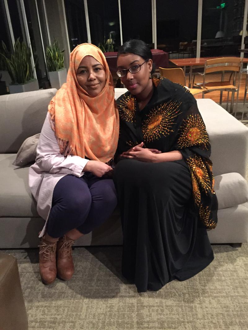 Eat With Muslims co-founders Fathia Absie and Ilays Aden