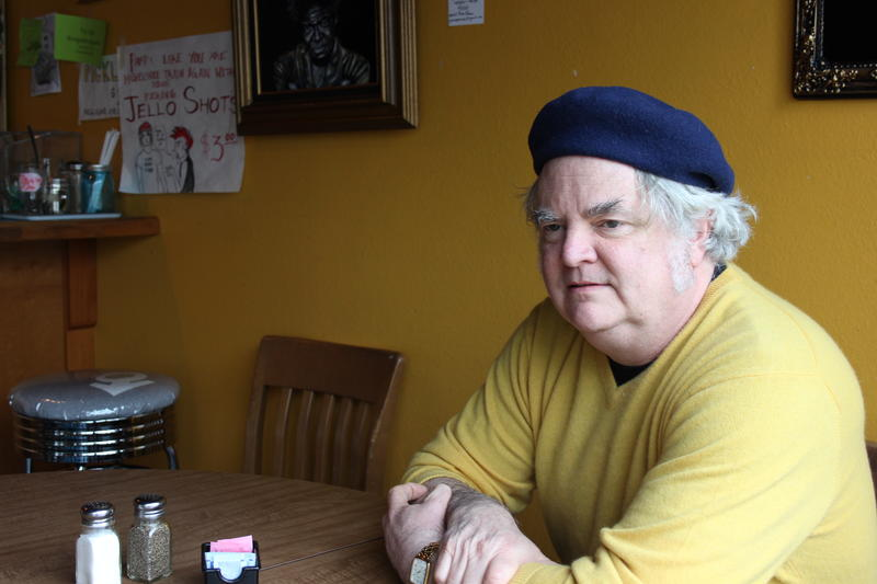 Kurt Geissel, owner of Cafe Racer, says he needs to move on
