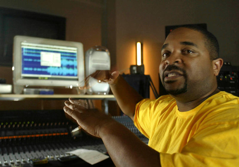 Sir Mix-A-Lot at work in his studio Sept. 8, 2003, in Auburn, Wash.