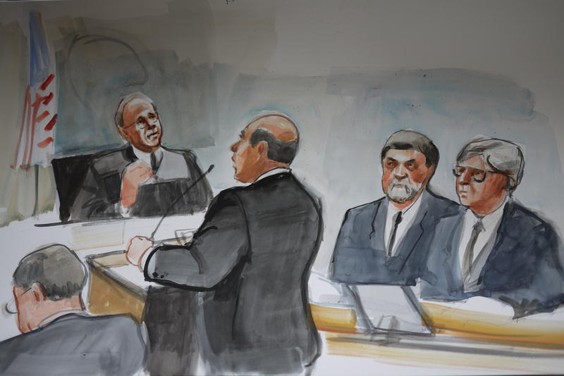 U.S. Magistrate Judge James P. Donohue hears arguments in Daniel Ramirez's case.