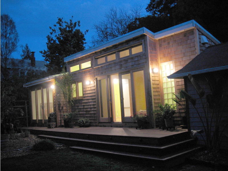 An example of a 400 square foot backyard cottage.