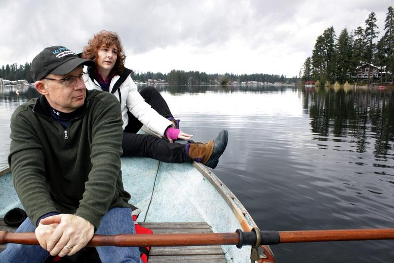 Bill and Cindy Wheeler have lived on Lake Sawyer for 30 years, but they don't know the weir master.