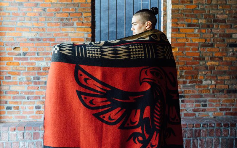 Dyami Thunderbird blanket