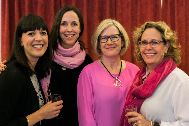 Devon Atchison, Martha Adams, Nikie Smith and Kate Isler at IWD