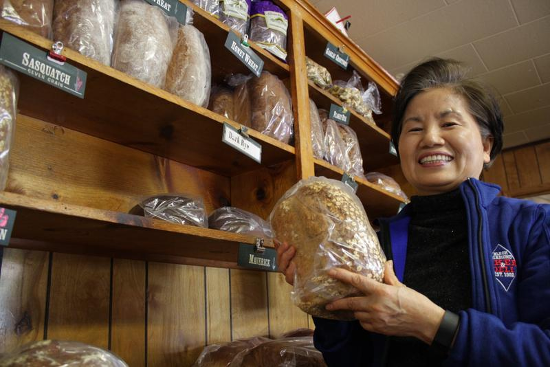Moon Bang, originally from Korea, owns the Black Diamond Bakery. She has periodically encountered racism since she bought the bakery 10 years ago.