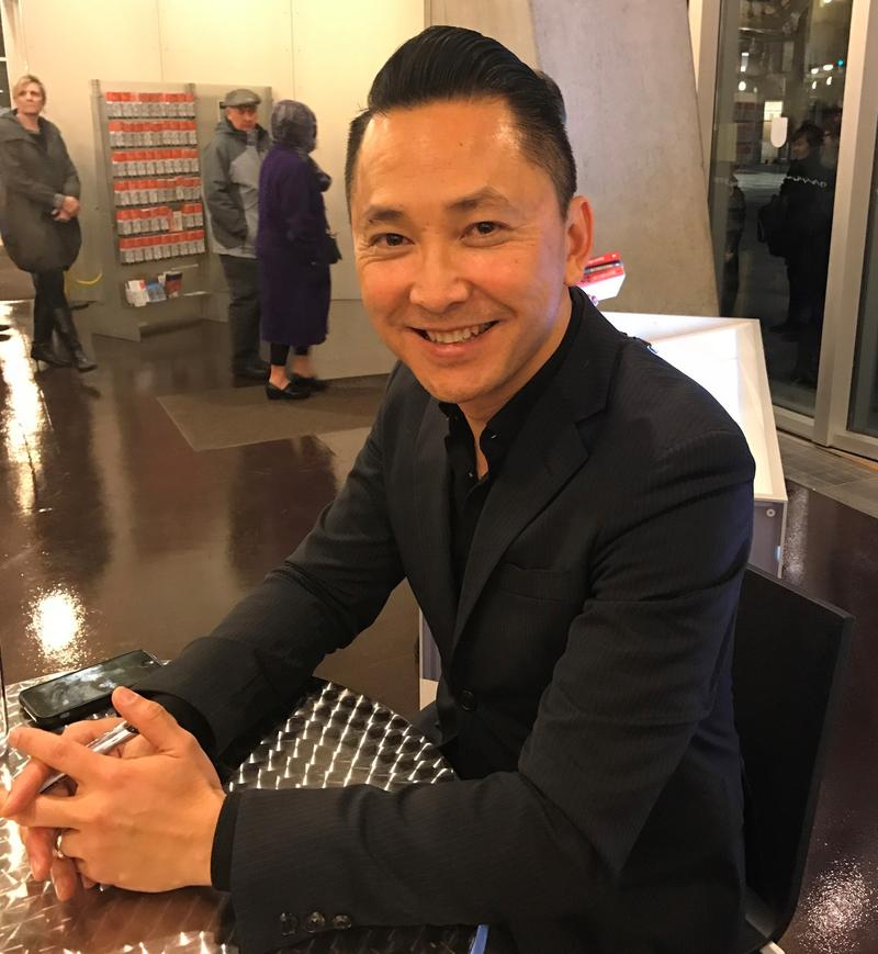 Author Viet Thanh Nguyen at Seattle Public Library
