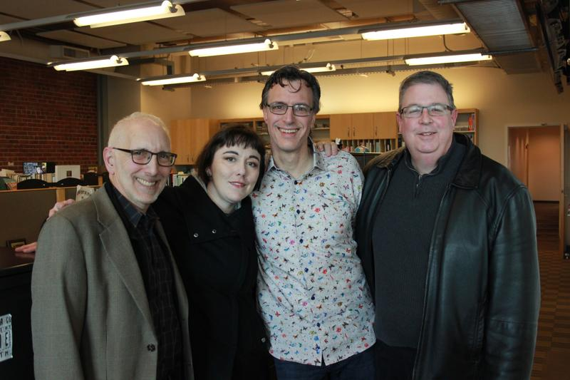 From L-R: Nick Licata, Erica C. Barnett, Bill Radke and Chris Vance