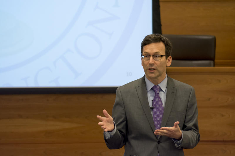 Washington Attorney General Bob Ferguson at The University of Washington
