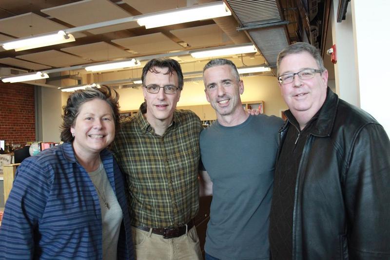 L-R: Tina Podlodowski, Bill Radke, Dan Savage and Chris Vance
