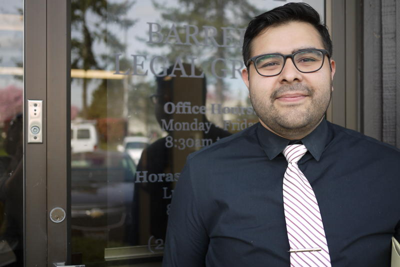 Luis Cortes, the undocumented attorney who took up Daniel Ramirez's case.