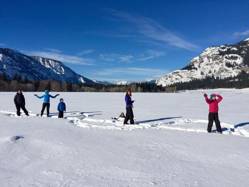 Skiers in the Methow Valley, which gets almost as much sun as Las Vegas or Phoenix.
