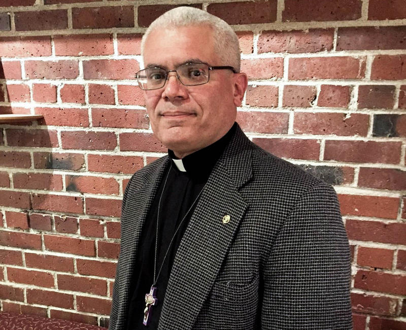 Father Antonio Illas was federal immigration agent for 25 years before becoming a priest.