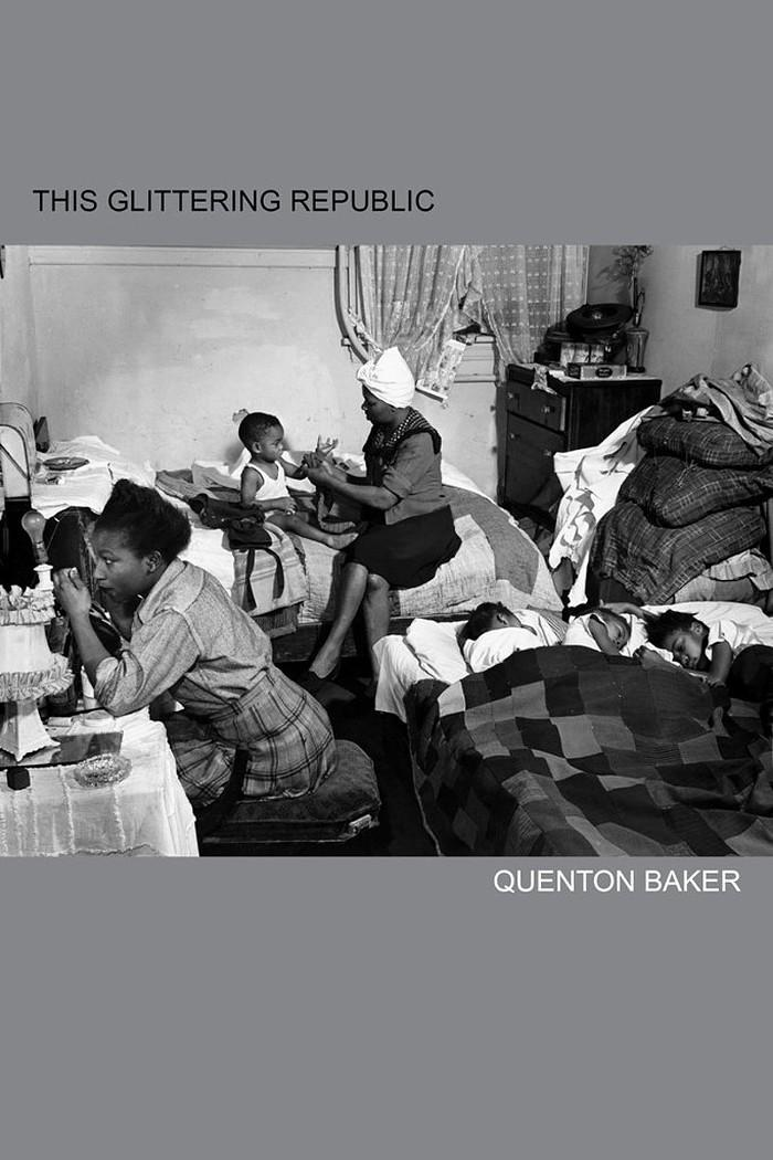Cover of Quenton Baker's new book, 'This Glittering Republic'