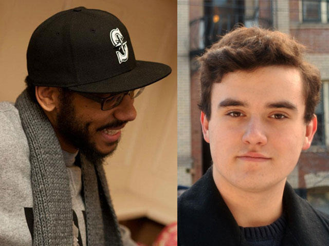 Seattle poet Quenton Baker and Spokane high school student Ben Read have poems published in a new anthology titled 'WA 129.'