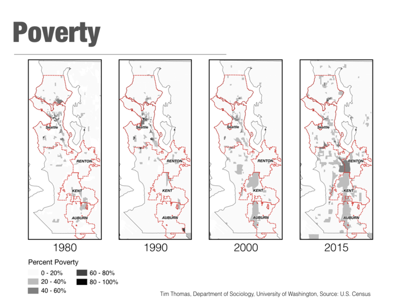Poverty and race are intertwined in this migration, says UW researcher Tim Thomas.