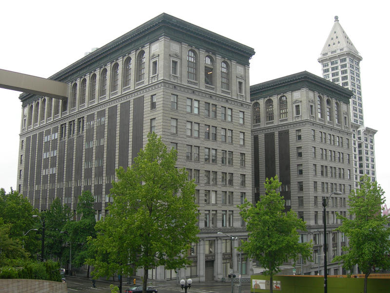 King County Courthouse in downtown Seattle