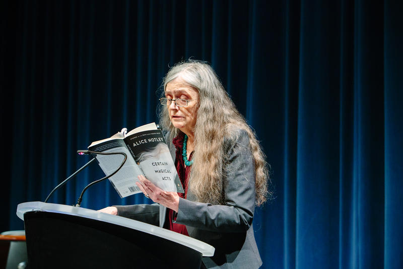 Poet Alice Notley at McCaw Hall