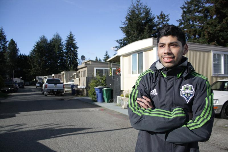 Jeremy Chirinos of Renton was in middle school when Jimi Hendrix's house arrived. The failure of a museum project that would have surrounded the house meant he had an affordable place to grow up.