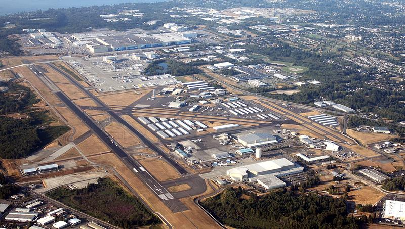 File photo of Paine Field from August 2009.
