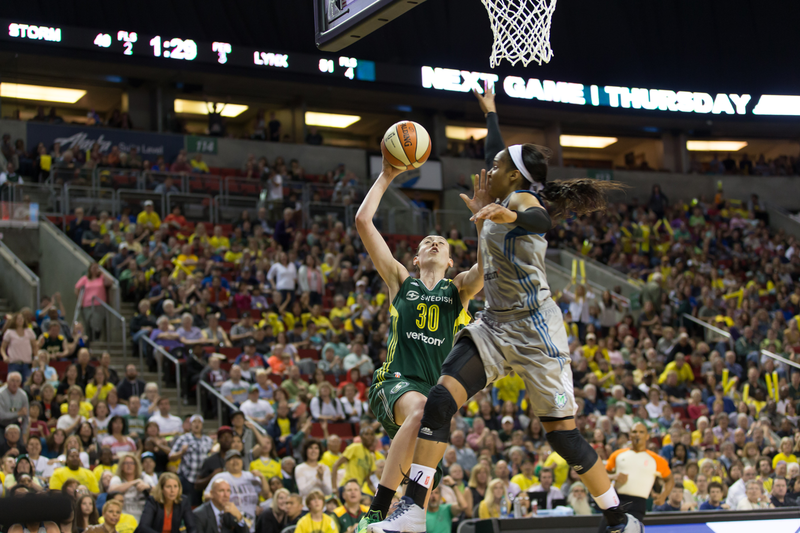 The Storm's Breanna Stewart was the #1 WNBA draft pick in 2016