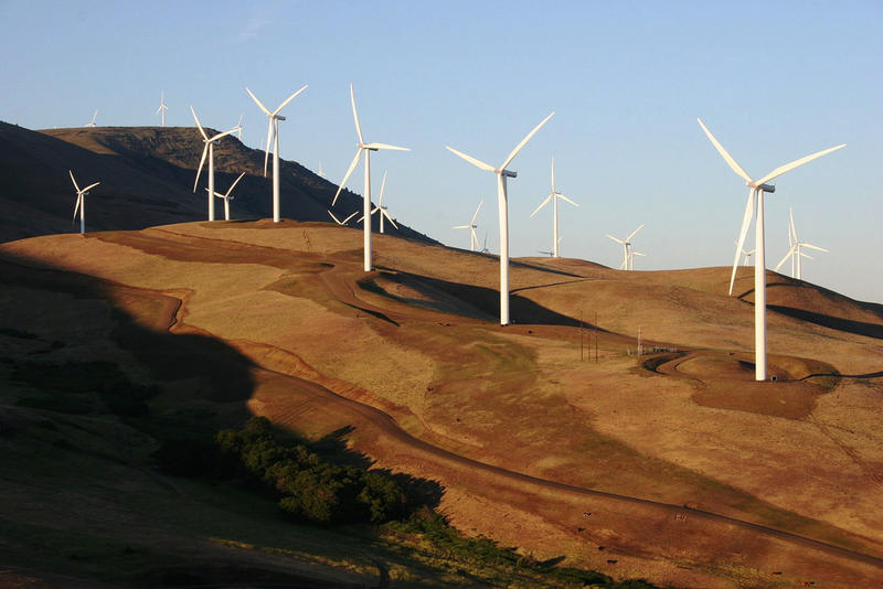 The Big Horn Wind Farm in Klickitat County, Washington.