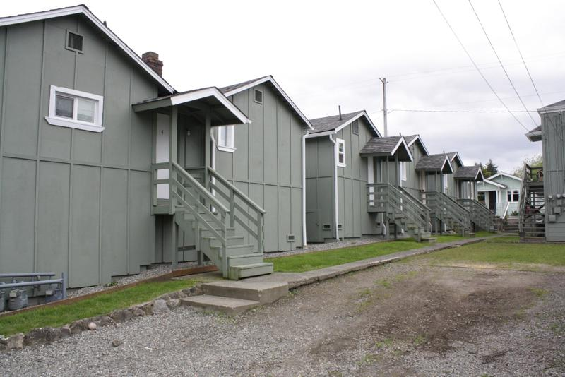 Another type of housing built during Bremerton's boom years.