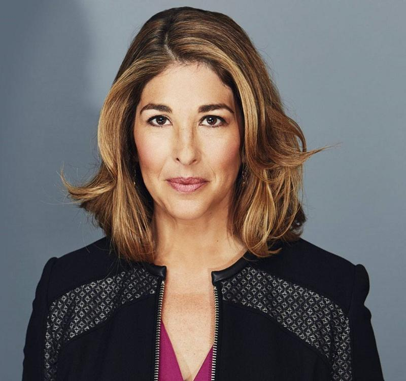 Author and journalist Naomi Klein