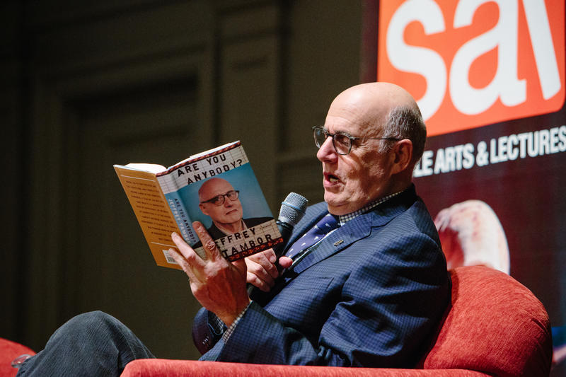 """That same weekend she brought me a gift. A red bow tie."" Jeffery Tambor reads from his new memoir at Town Hall Seattle"