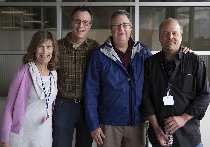L-R: Joni Balter, Bill Radke, Chris Vance, David Goldstein