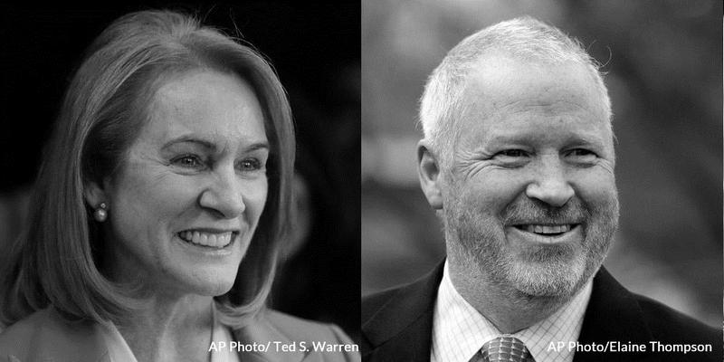 Jenny Durkan and Mike McGinn