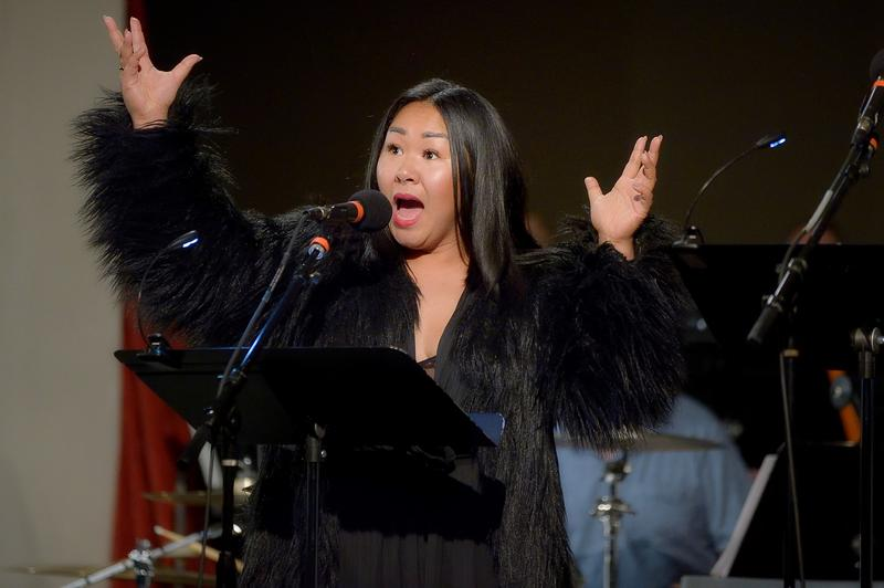'Everything I did to my children....I did to them to make them stronger!' Dragon Lady Sara Porkalob at Town Hall Seattle