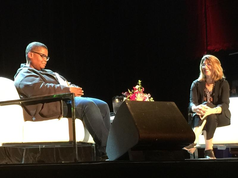 Keeanga-Yamahtta Taylor and Naomi Klein move past their shock at Trump's election at the Neptune Theatre