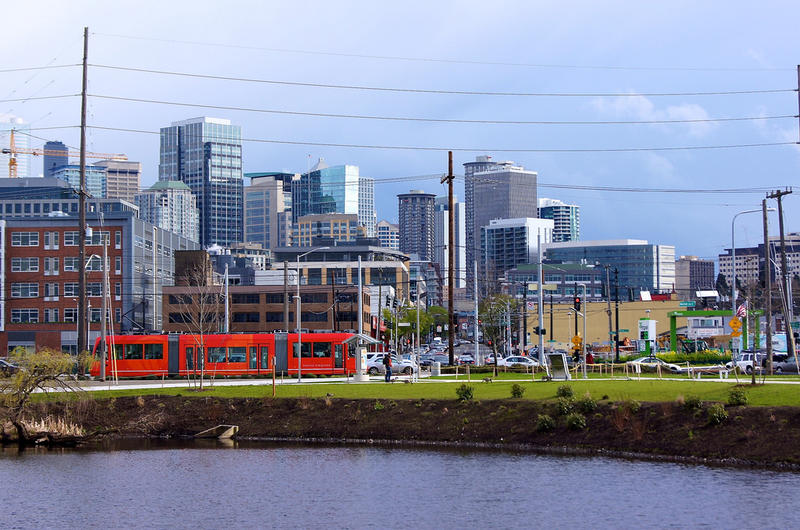 South Lake Union neighborhood, home to many Seattle tech companies