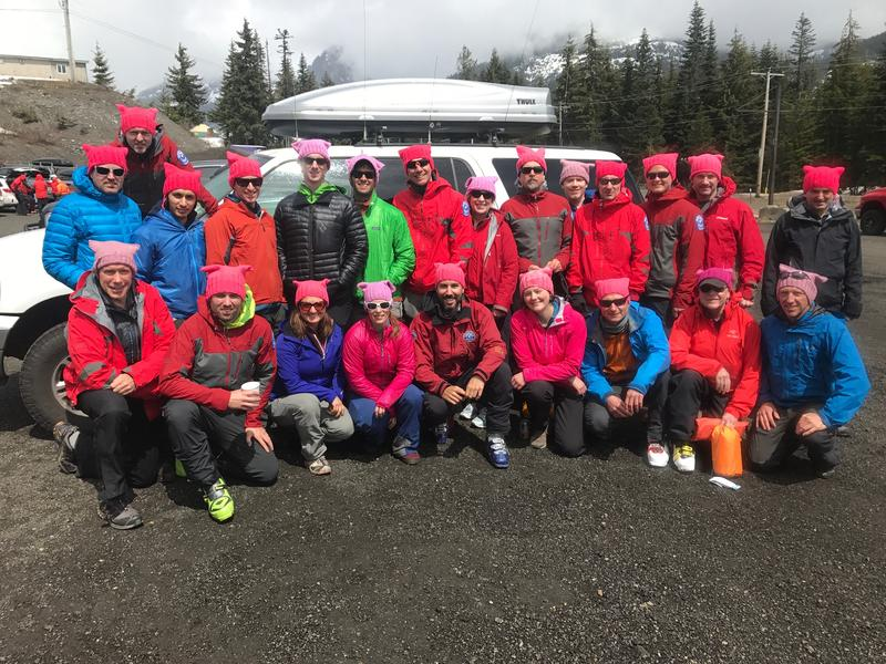 A Seattle Mountain Rescue gathering