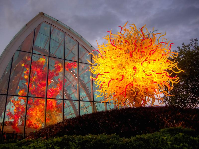 Chihuly Glass and Garden, Seattle, Washington