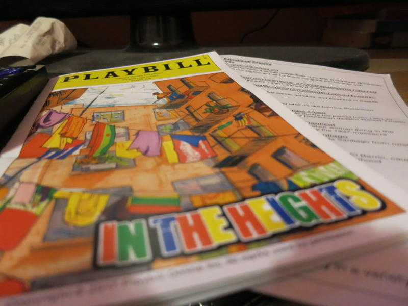 "Garfield's drama department produced ""In the Heights"" which is supposed to have an all-Latinx cast, but there weren't enough Latinx students in the department to fill the roles."