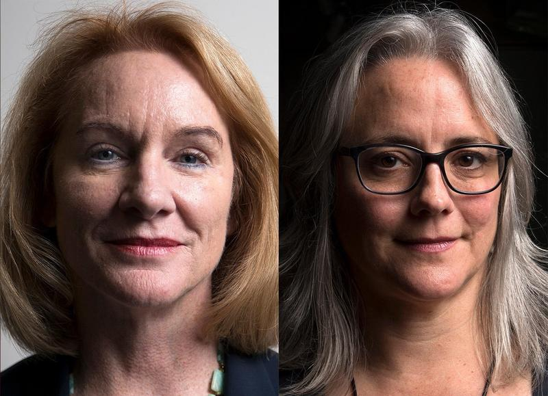 Jenny Durkan and Cary Moon