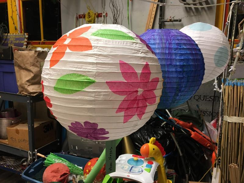 A few of the anticipated 400 lanterns to light the perimeter of Green Lake on Sept. 21.