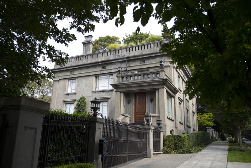 The Sam Hill mansion on Capitol Hill is on the market for $15 million.