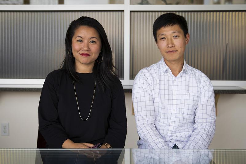 Thanh Tan and James Hong
