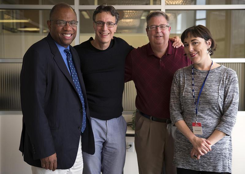 L-R: Essex Porter, Bill Radke, Chris Vance, Erica C. Barnett