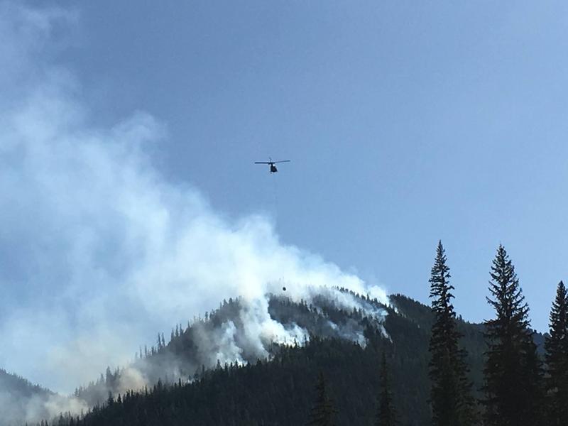 Norse Peak fire, September 4.
