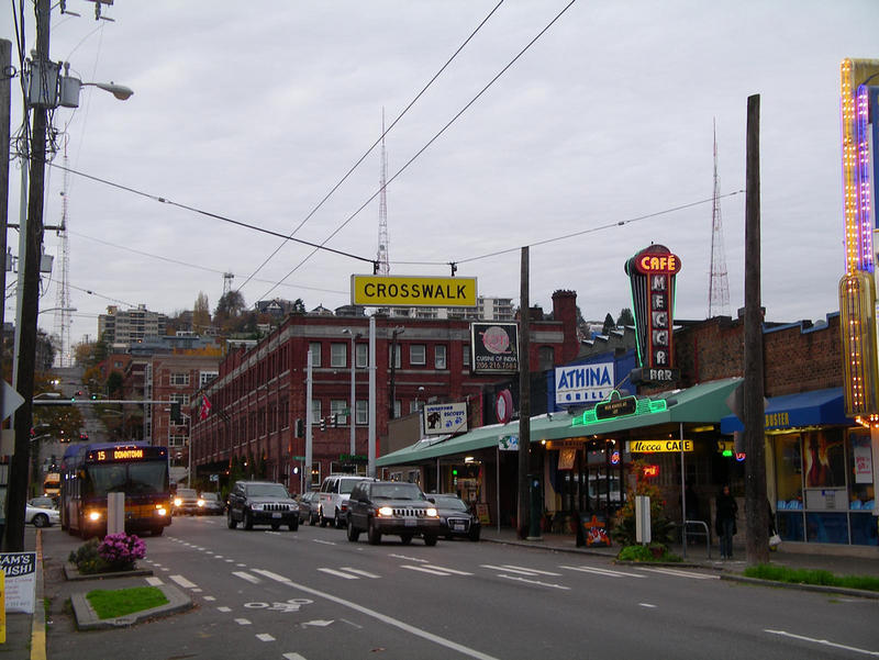 Queen Anne Avenue is now zoned to allow 85ft buildings between Denny Way and Roy Street