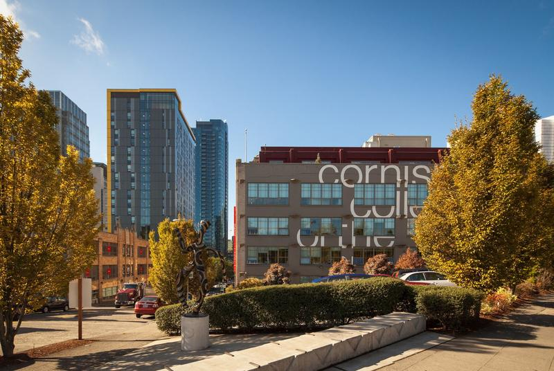 The main campus of Cornish College of the Arts, in Seattle's South Lake Union neighborhood