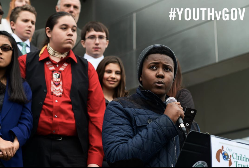 'People my age are fighting the hardest when really, like, we didn't even start this in the first place.' Victoria Barrett is one of the plaintiffs in Juliana Vs. The United States.