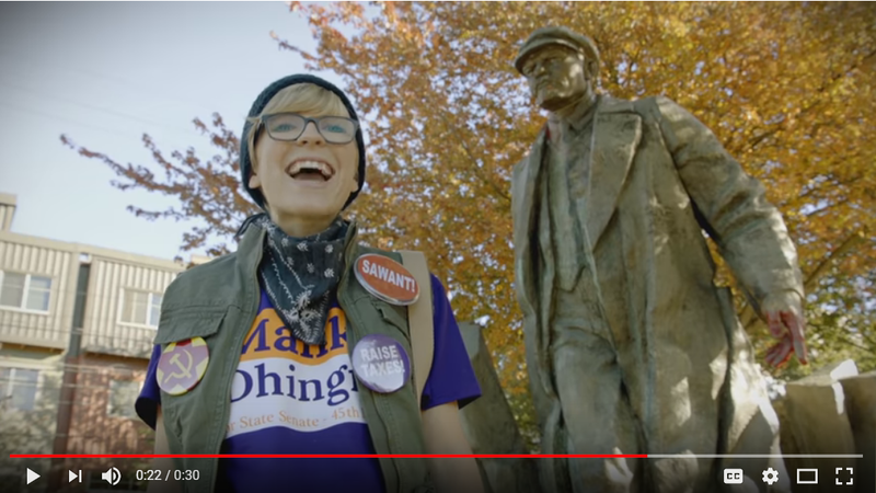 """A new political ad against 45th District candidate Manka Dhingra, produced by """"Eastside Values."""""""