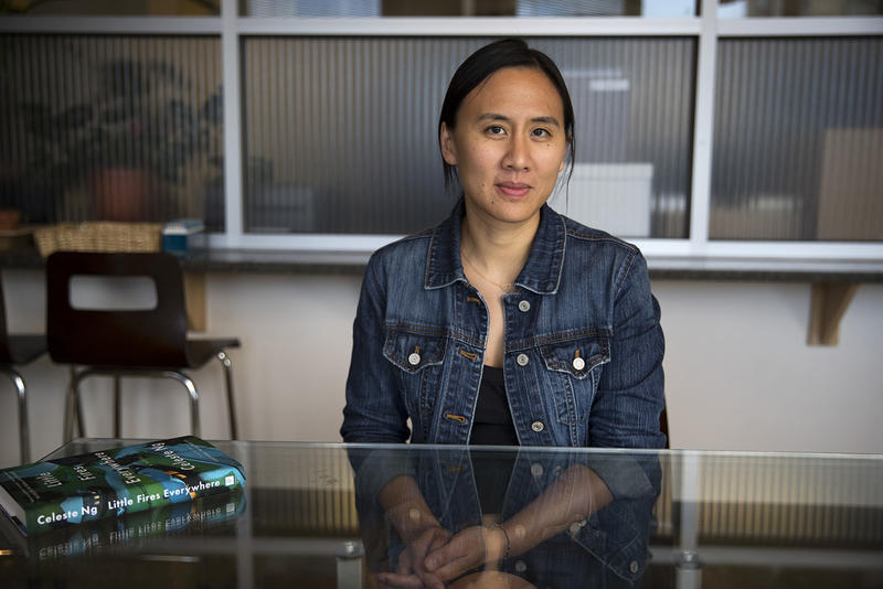 Author Celeste Ng at KUOW in October, 2017.