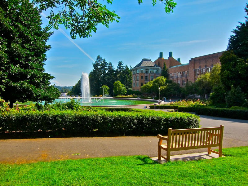University of Washington campus